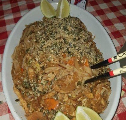 פאד תאי עם שמן בטעם בצל